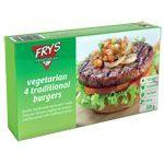 Xορτοφαγικά παραδοσιακά μπέργκερ Fry's