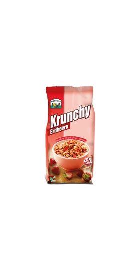 Krunchy με γεύση φράουλα